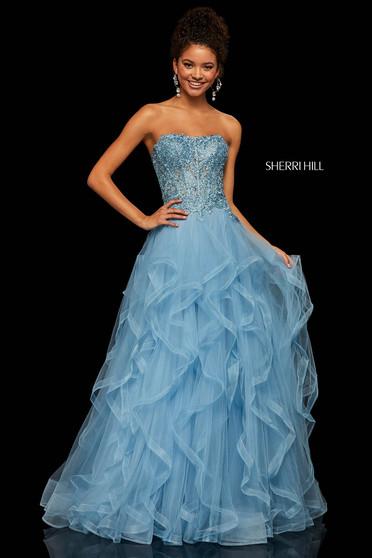 Sherri Hill 52504 LightBlue Dress