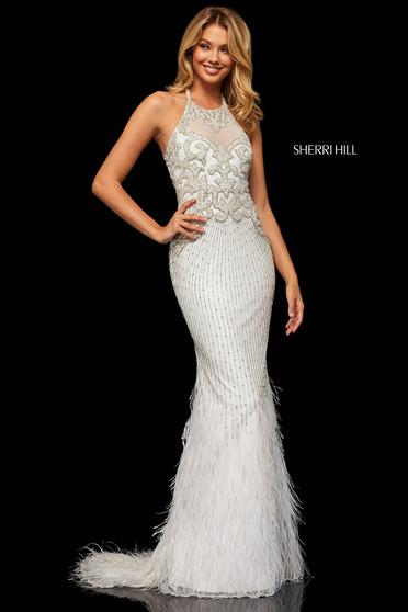 Sherri Hill 52517 White Dress