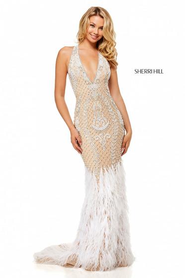 Sherri Hill 52518 Nude Dress