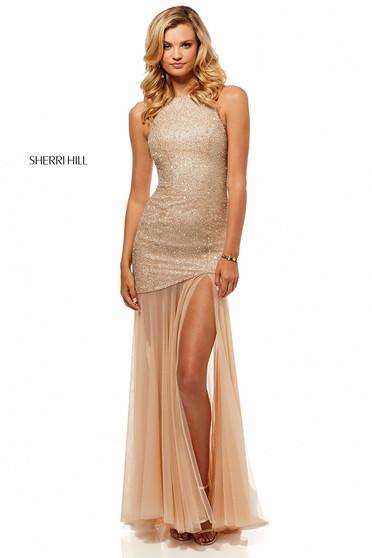 Sherri Hill 52520 Nude Dress