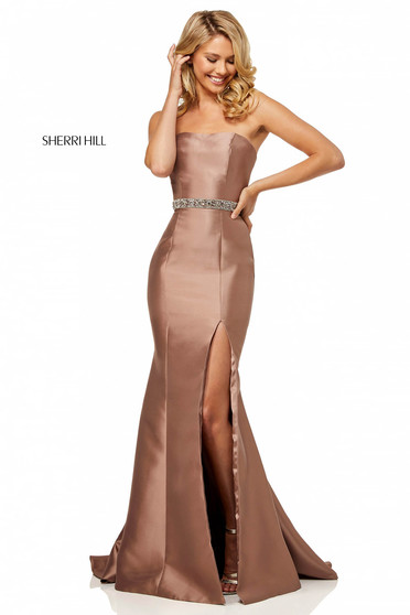 Sherri Hill 52541 Brown Dress
