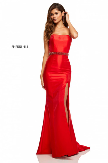 Sherri Hill 52541 Red Dress