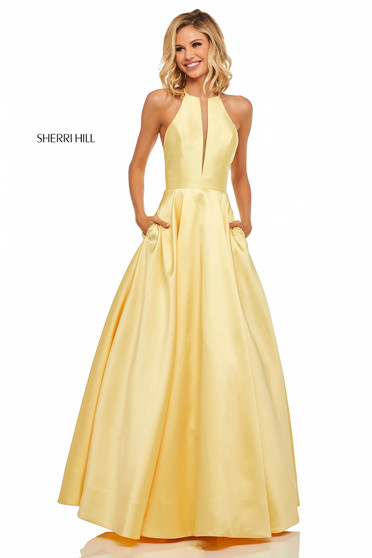 Sherri Hill 52583 Yellow Dress