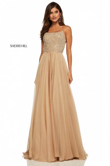 Sherri Hill 52591 Nude Dress