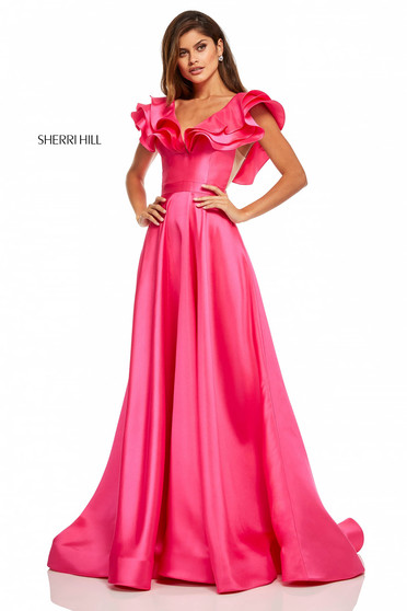 Sherri Hill 52595 Pink Dress
