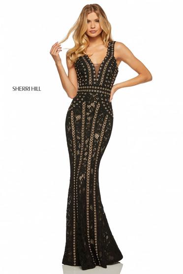 Sherri Hill 52611 Black Dress