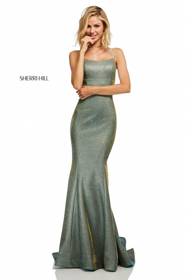 Sherri Hill 52614 Silver Dress