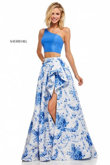 Sherri Hill 52617 White Dress