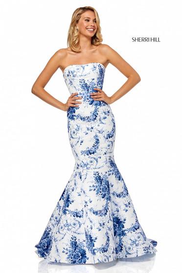 Sherri Hill 52618 White Dress