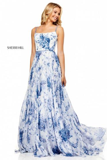 Sherri Hill 52621 White Dress
