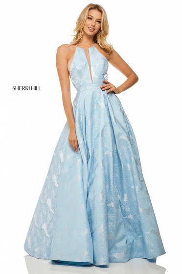 Sherri Hill 52630 LightBlue Dress