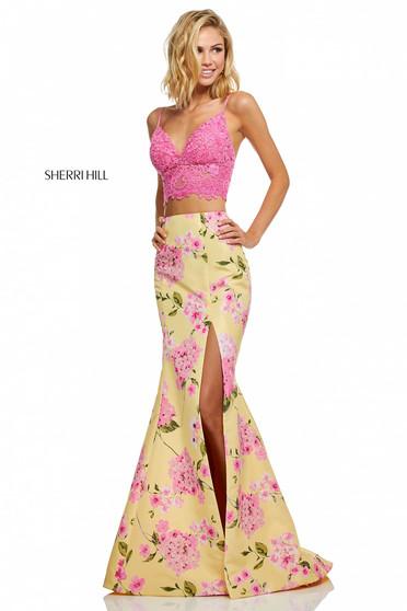 Sherri Hill 52635 Yellow Dress