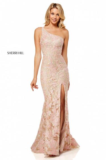 Sherri Hill 52654 Nude Dress