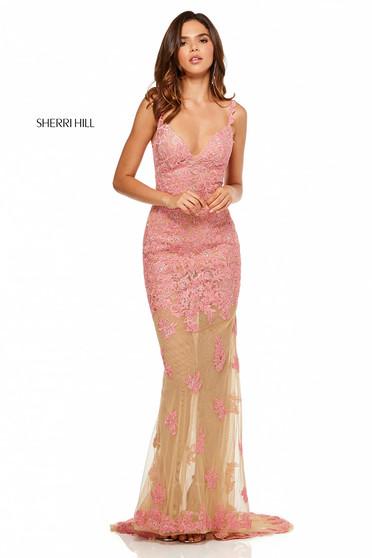 Sherri Hill 52655 Coral Dress