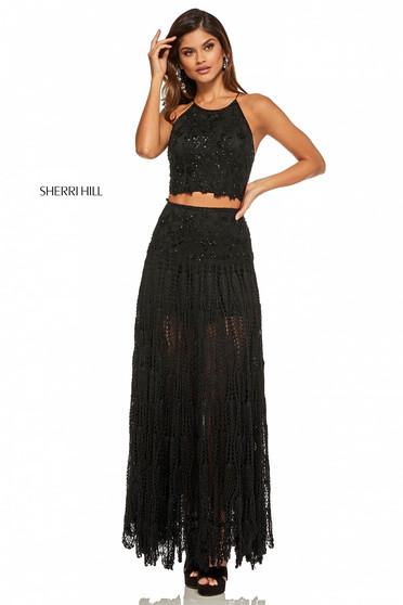 Sherri Hill 52671 Black Dress