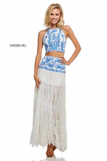 Sherri Hill 52671 Blue Dress