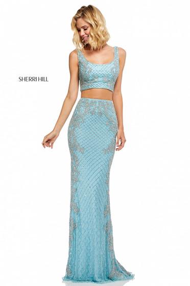 Sherri Hill 52686 LightBlue Dress