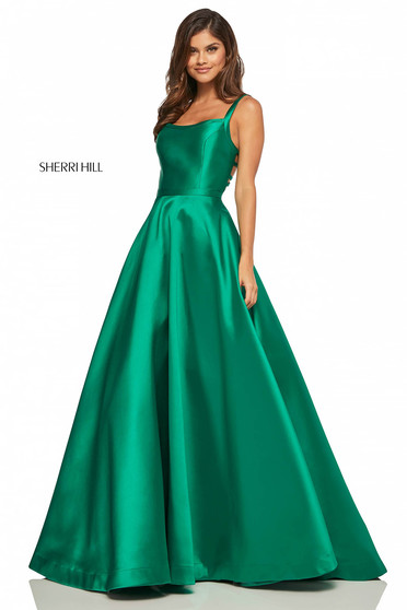 Sherri Hill 52715 Green Dress
