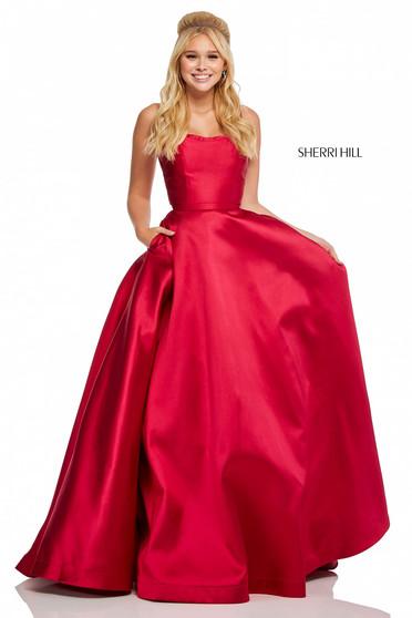 Sherri Hill 52715 Red Dress