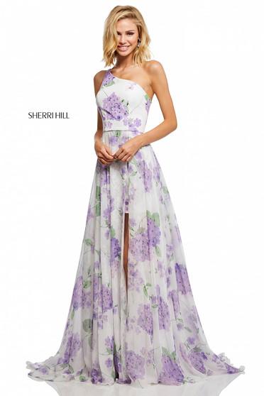 Sherri Hill 52727 White Dress
