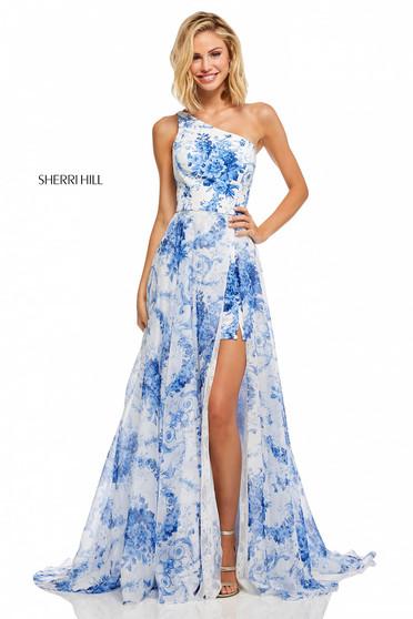 Sherri Hill 52728 White Dress
