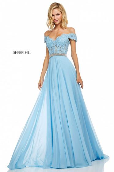 Sherri Hill 52729 LightBlue Dress