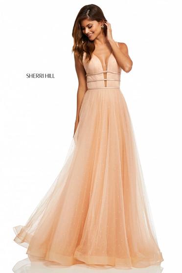 Sherri Hill 52737 Nude Dress