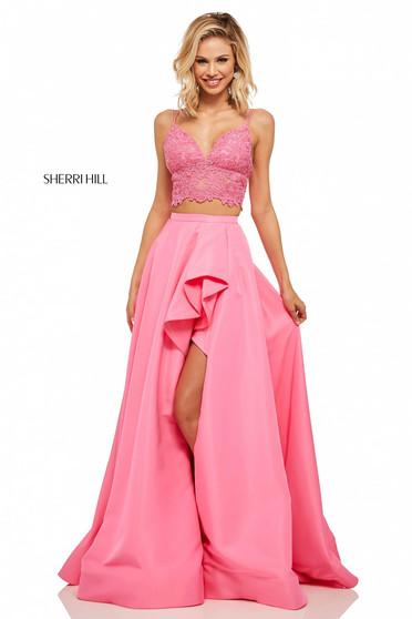 Sherri Hill 52754 Pink Dress
