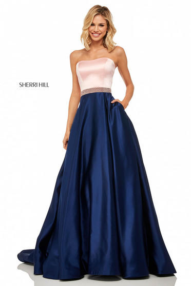 Sherri Hill 52776 Blue Dress