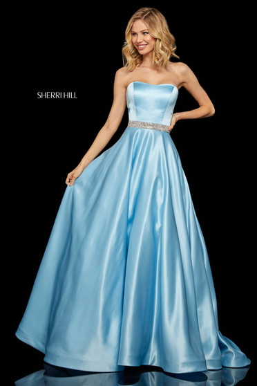 Sherri Hill 52776 LightBlue Dress