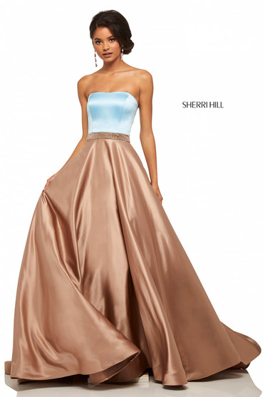 Sherri Hill 52776 Nude Dress