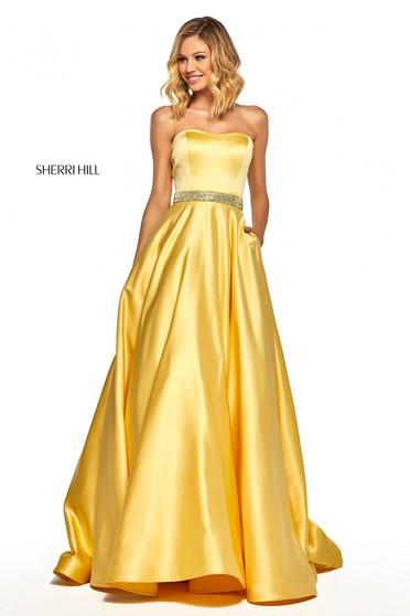 Sherri Hill 52776 Yellow Dress