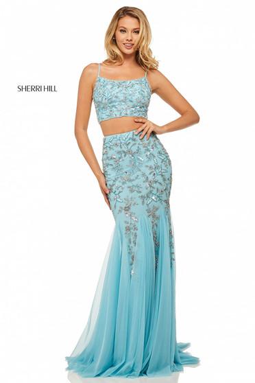 Sherri Hill 52808 LightBlue Dress
