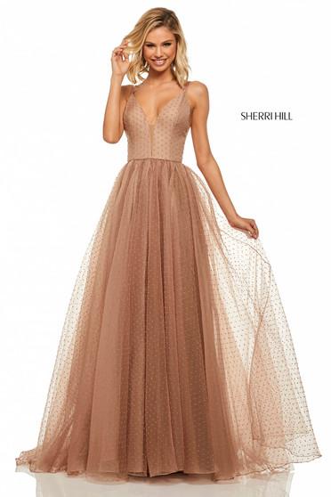 Sherri Hill 52812 Nude Dress