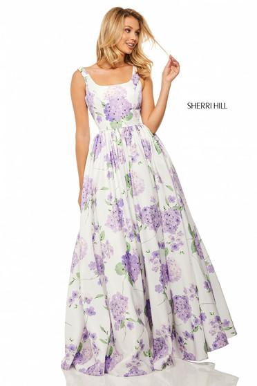 Sherri Hill 52815 Ivory Dress