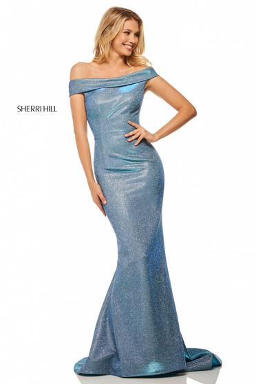 Sherri Hill 52825 Blue Dress