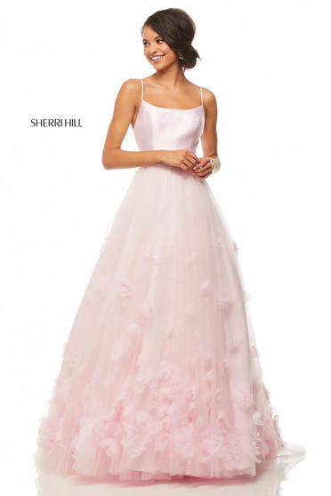 Sherri Hill 52828 Pink Dress