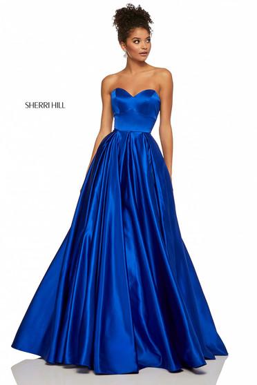 Sherri Hill 52850 Blue Dress