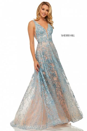 Sherri Hill 52877 Nude Dress