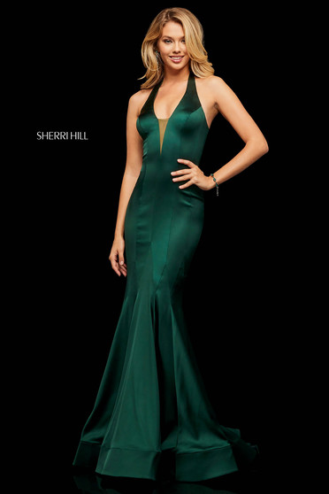 Sherri Hill 52887 Green Dress