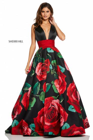 Sherri Hill 52898 Black Dress