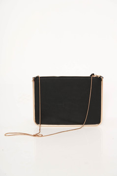 Top Secret black occasional bag