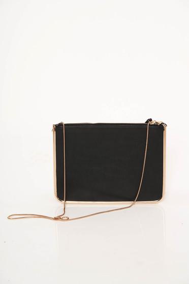 Top Secret black occasional bag