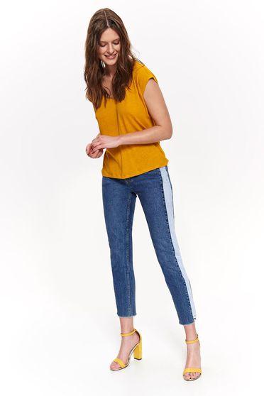 Top Secret S043689 Yellow Top Shirt