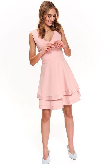 Top Secret rosa elegant cloche dress with v-neckline sleeveless