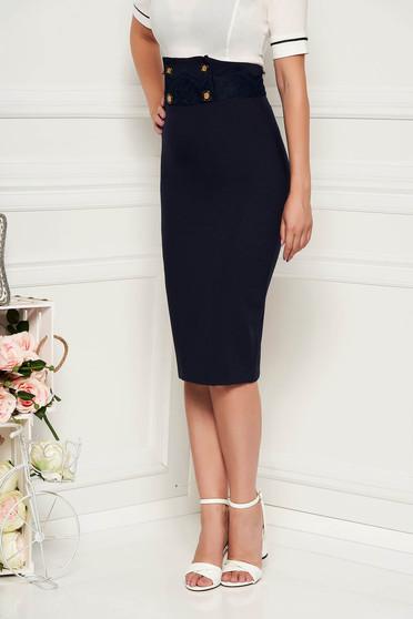 Fofy darkblue skirt