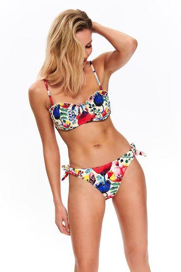 Top Secret cream balconette bathing bra adjustable and detachable straps