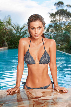Cosita Linda darkblue swimsuit luxurious from two pieces
