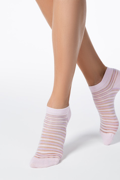 Rosa socks elastic cotton fitted heel