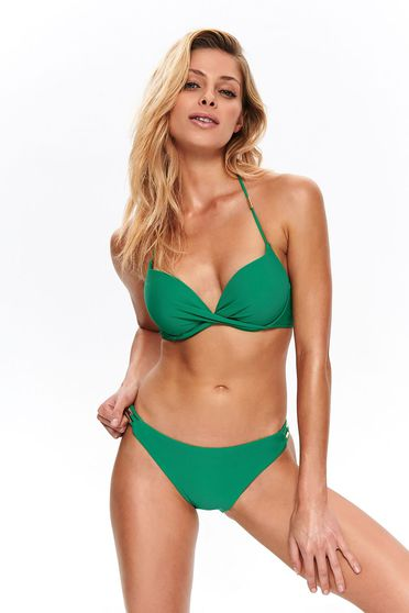 Top Secret green bathing normal bra
